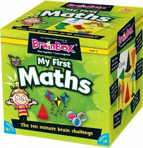 BrainBox My First Maths (55 cards)