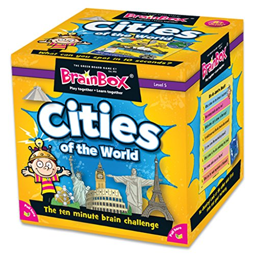 BrainBox Cities (55 cards)