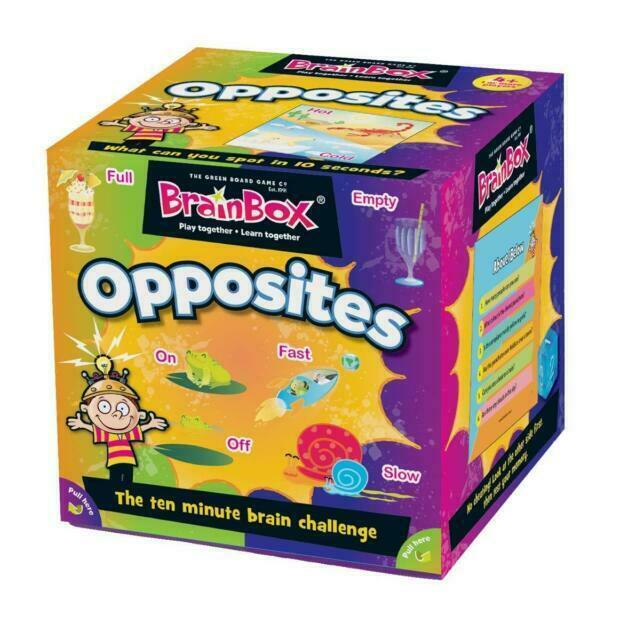 BrainBox Opposites (55 cards)