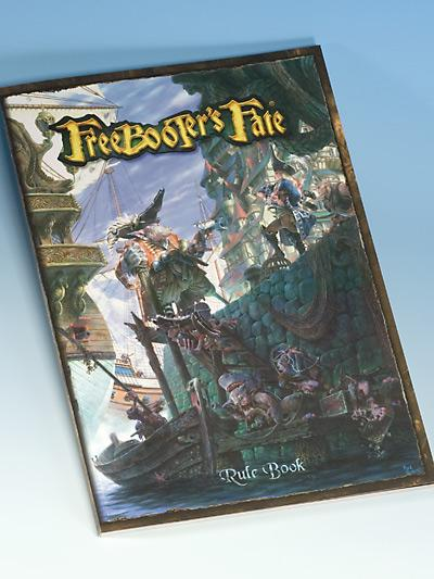 Freebooters Fate Rulebook & Game Cards