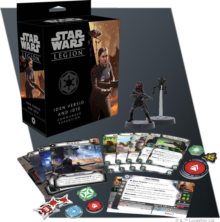 Star Wars: Legion: Iden Versio and Dio Commander Expansion