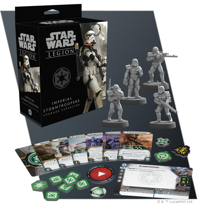 Star Wars: Legion: Stormtrooper Upgrade Expansion