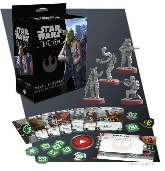 Star Wars: Legion: Rebel Trooper Upgrade Expansion