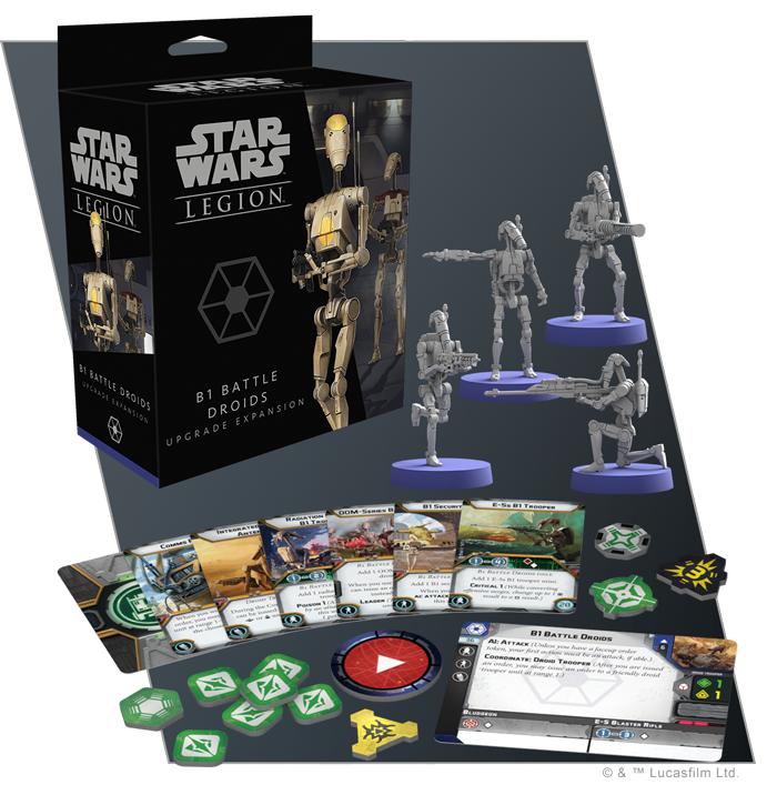 Star Wars: Legion: B1 Battle Droid Upgrade Expansion