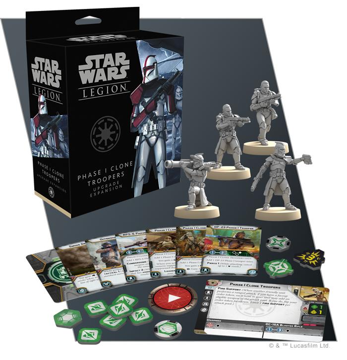 Star Wars: Legion: Phase 1 Clone Trooper Upgrade Expansion