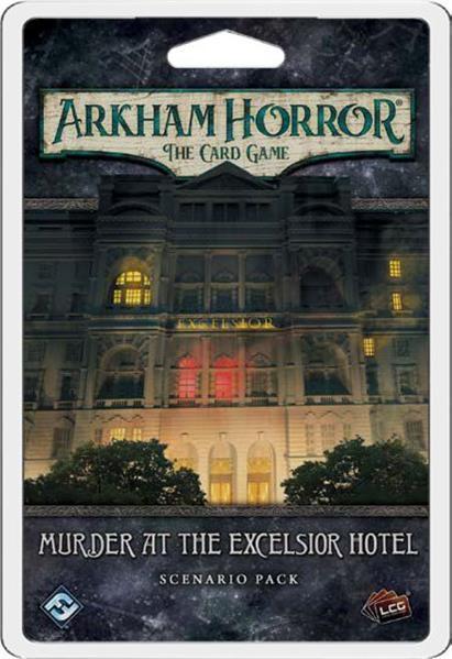 Murder at the Excelsior Hotel Arkham Horror LCG Exp