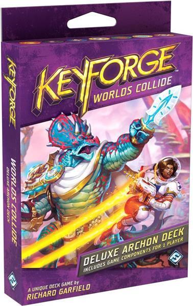 Worlds Collide Deluxe Deck: KeyForge