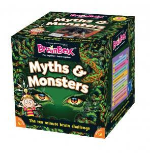 BrainBox Myths and Monsters (55 Cards)
