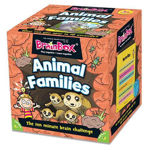BrainBox Animal Families (55 cards)