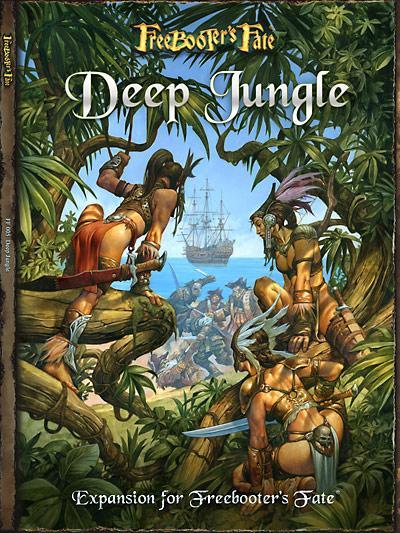 Deep Jungle - Rulebook Expansion