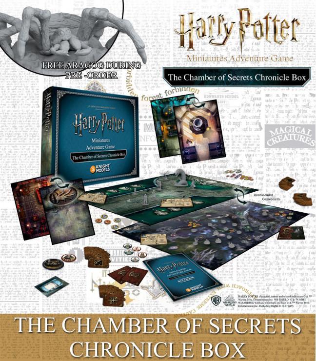 THE CHAMBER OF SECRETS CHRONICLE BOX