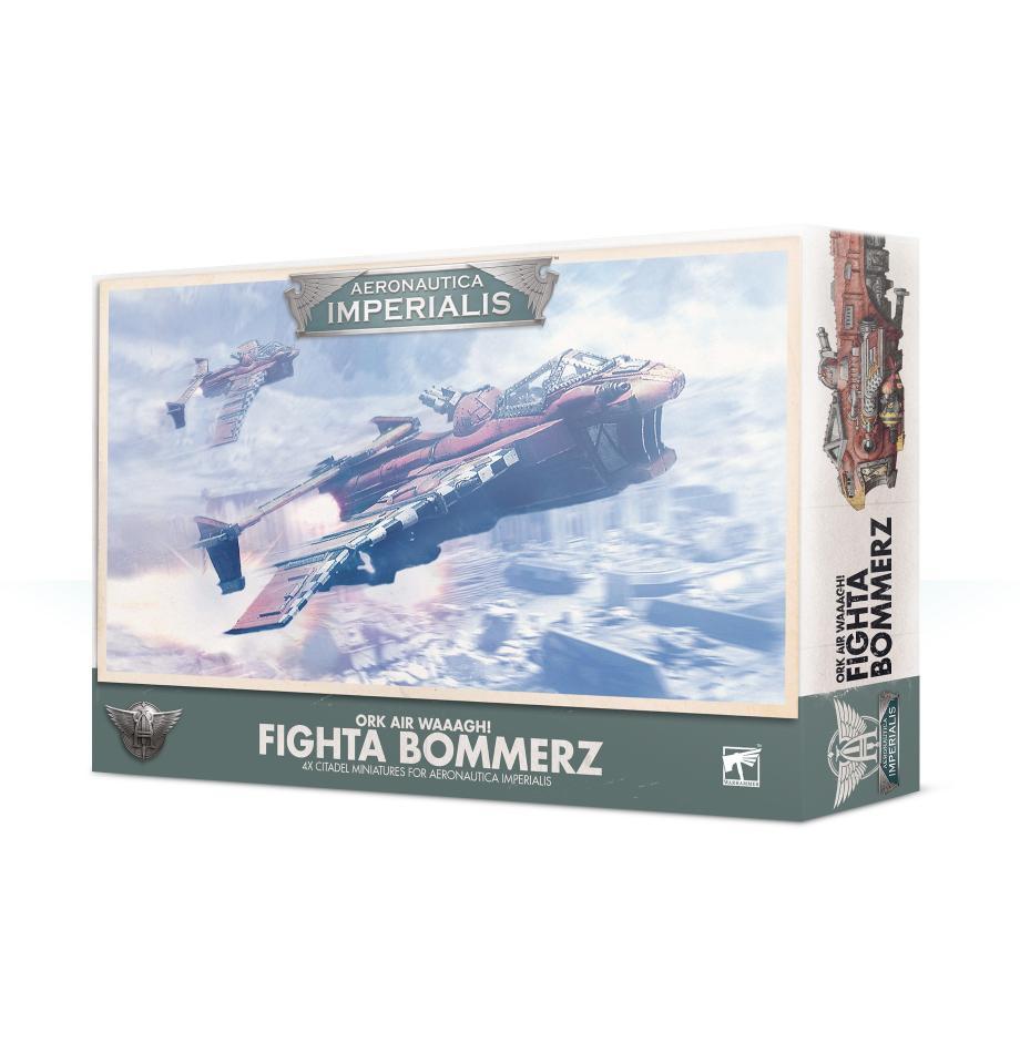 Aeronautica Imperialis: Ork Air Waaagh! Fighta Bommerz