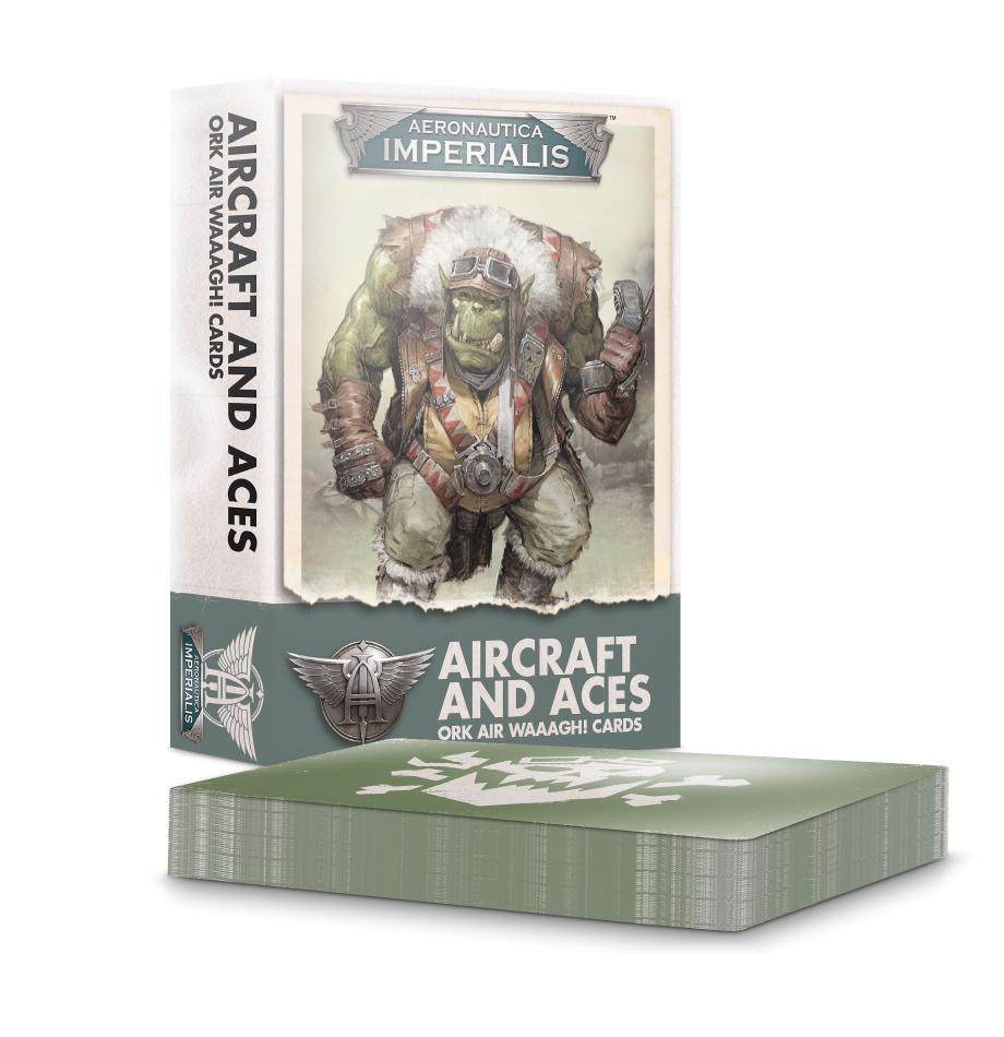 Aeronautica Imperialis Aircraft & Aces: Ork Air Waaagh! Cards