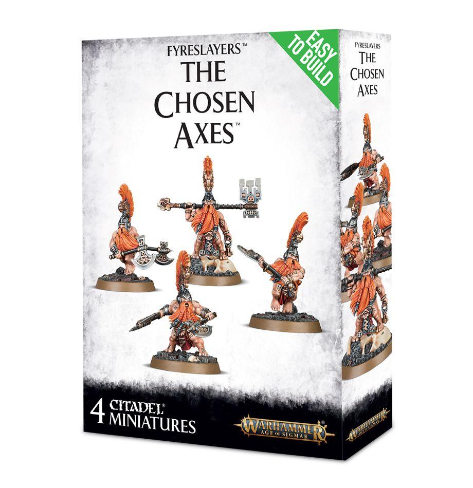 Easy to Build: Fyreslayers: The Chosen Axes