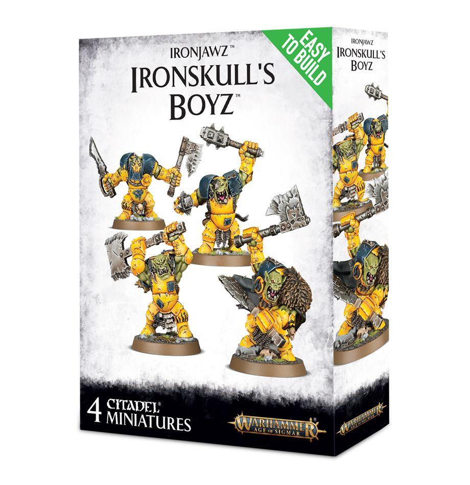 Easy to Build: Ironjawz: Ironskull's Boyz
