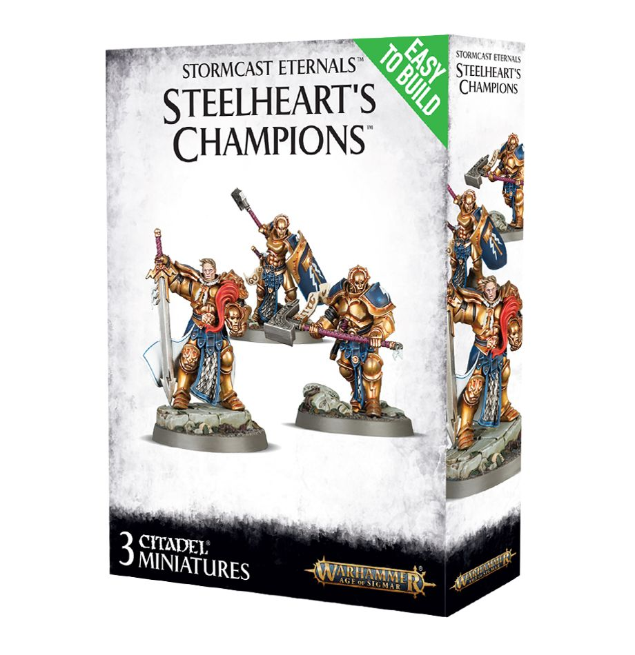 Easy to Build: Stormcast Eternals Steelheart's Champions