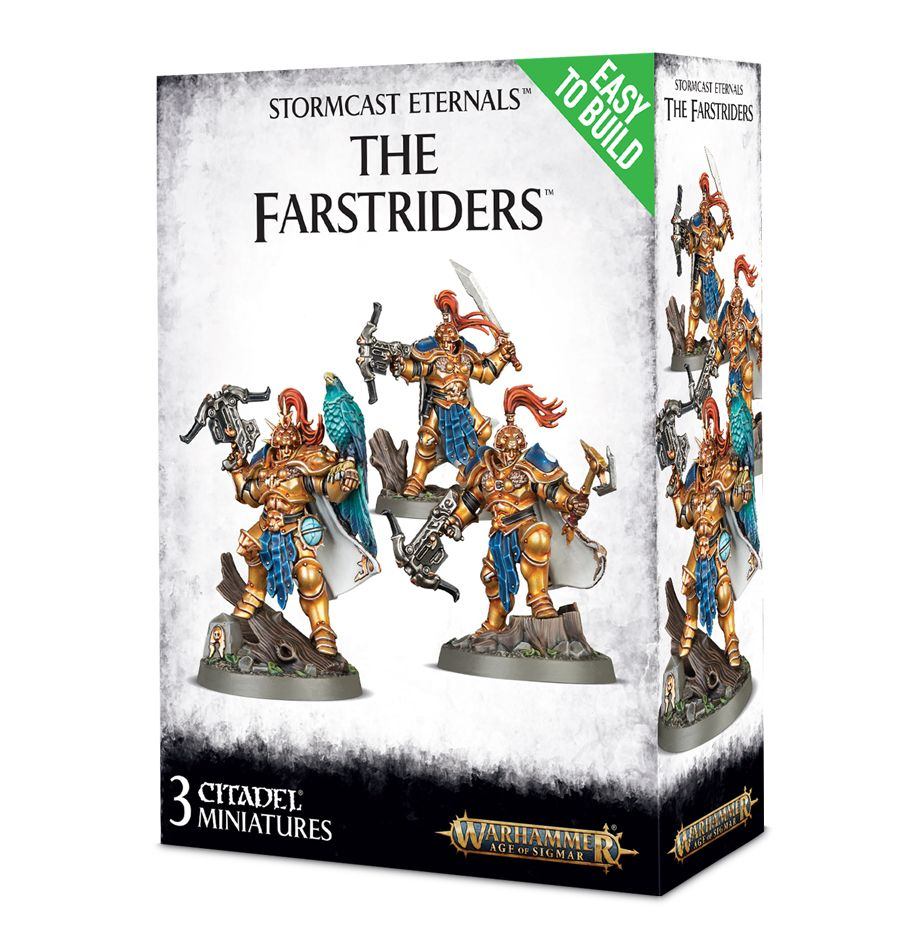 Easy to Build: Stormcast Eternals: The Farstriders