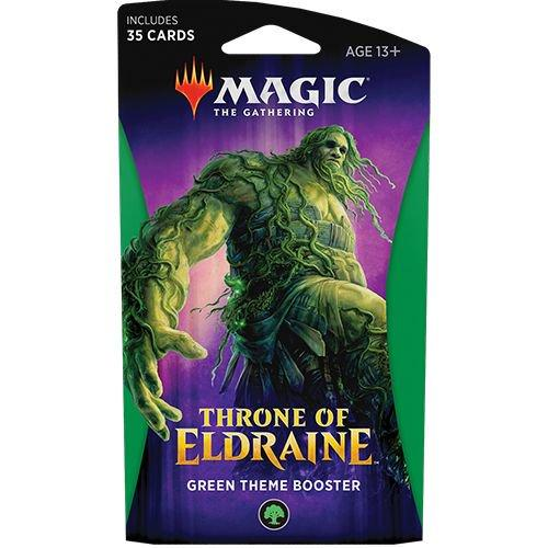 Magic: The Gathering - Throne of Eldraine Theme Booster - Green