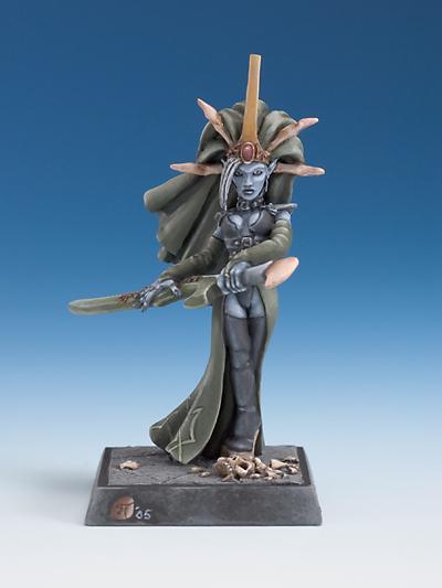 Dark elf Priestess