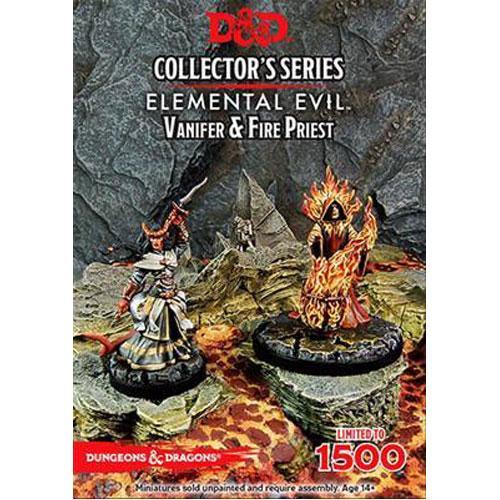 Vanifer & Fire Priest: D&D Collector's Series Princes of the Apocalypse Miniature