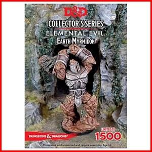 Earth Myrmidon: D&D Collector's Series Princes of the Apocalypse Miniature