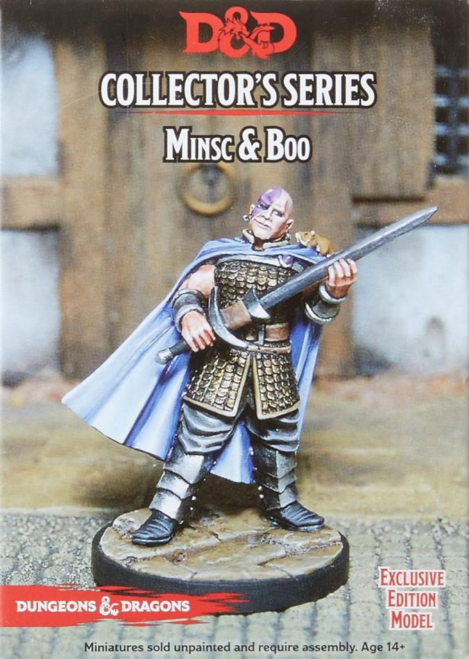 Minsc & Boo: D&D Collector's Series Classic Miniature