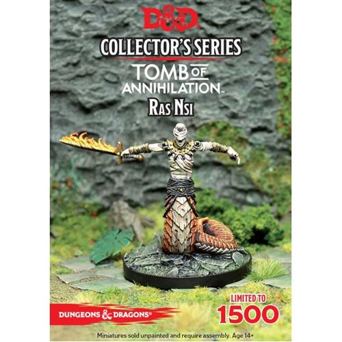 Ras Nsi: D&D Collector's Series Tomb of Annihiliation Miniature