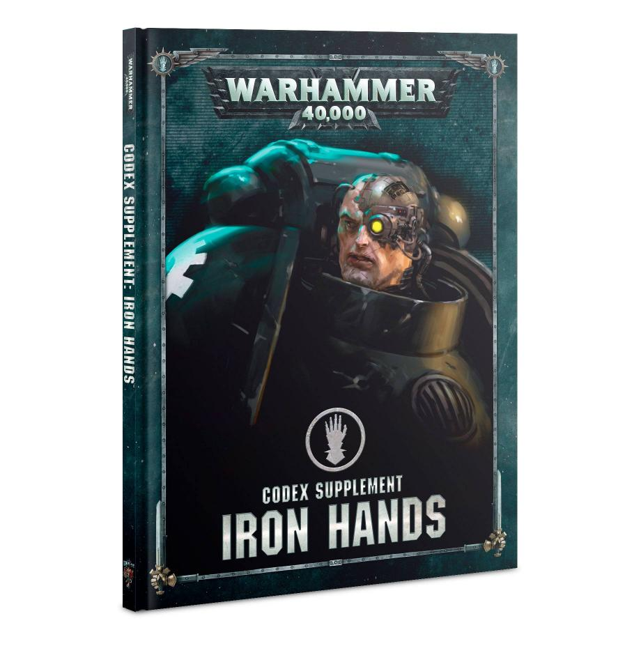 Codex: Iron Hands (Hardback) (English)