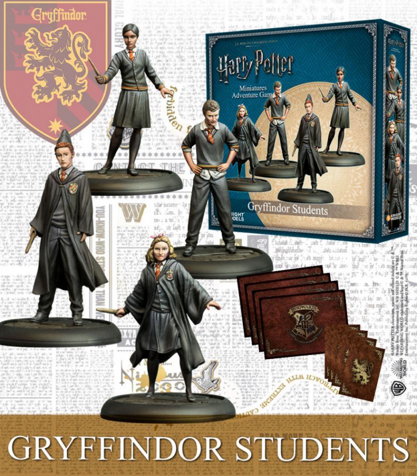 Gryffindor Students (4)