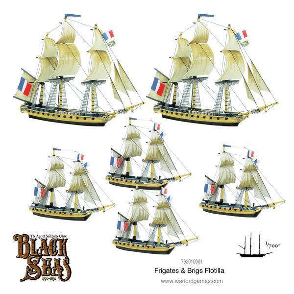 Frigate & Brigs Flotilla (1770-1830)