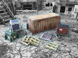 Shipping Container: Battle System Terrain