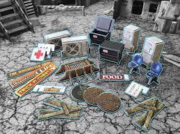 Urban Street Accessories I: Battle System Terrain
