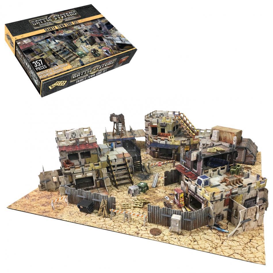 Shanty Town Core Set: Battle System Terrain
