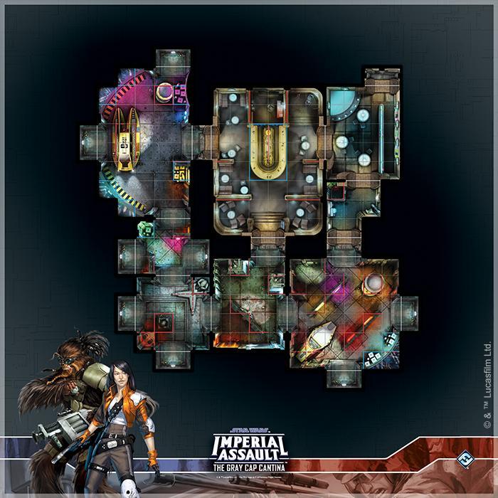 Gray Cap Cantina Raid Map: Star Wars Imperial Assault