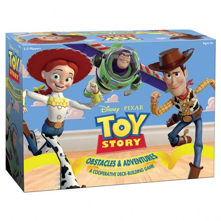 Toy Story Obstacles and Adventures - A Cooperative Deck-Building Game
