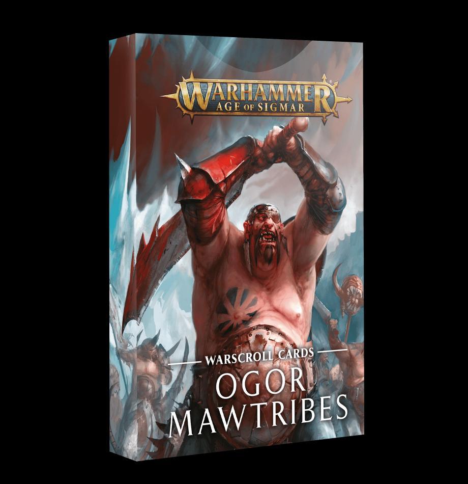 Warscroll Cards: Ogor Mawtribes (English)