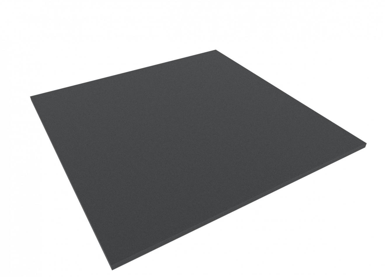 1000 mm x 1000 mm x 10 mm foam sheet