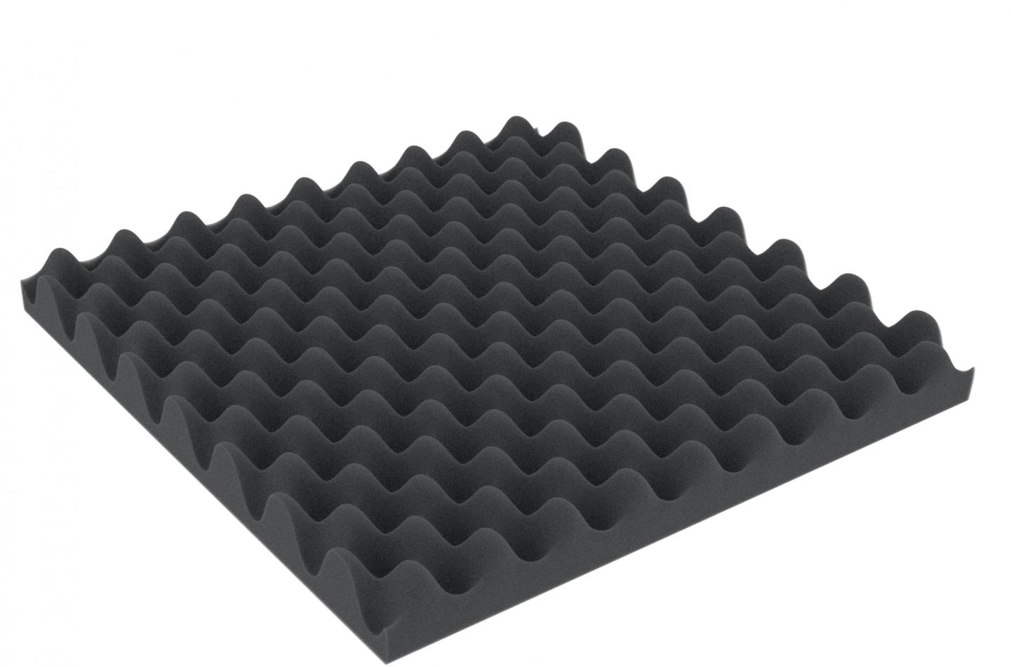ABNP050 300 mm x 300 mm x 50 mm (2 inches) Convoluted foam