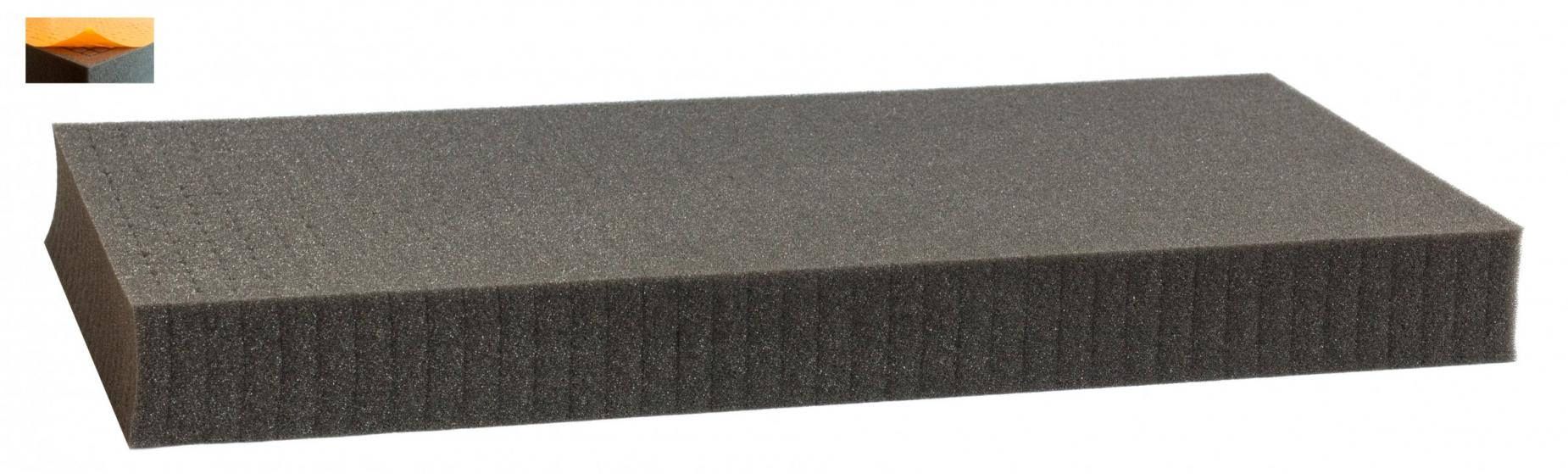 500 mm x 250 mm x 50 mm - Raster 12,5 mm - Pick and Pluck / Pre-Cubed foam tray self-adhesive