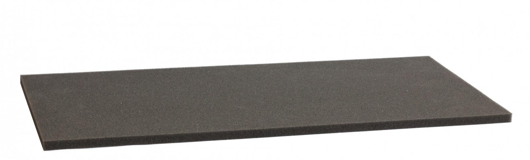 1000 mm x 500 mm x 20 mm foam sheet / cutting