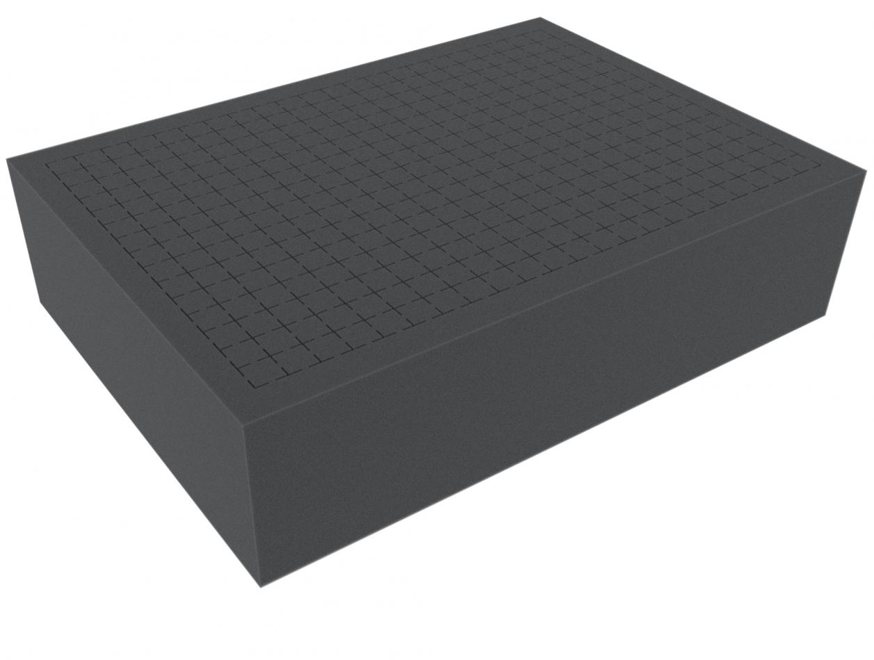 360 mm x 260 mm x 90 mm - Raster 15 mm - Pick and Pluck / Pre-Cubed foam tray