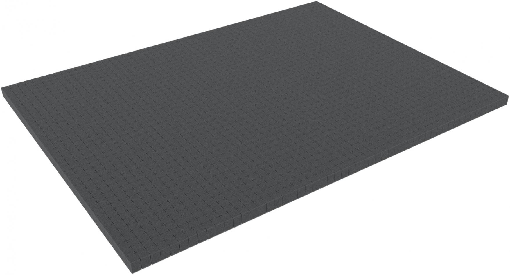 800 mm x 600 mm x 20 mm - Raster 15 mm - Pick and Pluck / Pre-Cubed foam tray