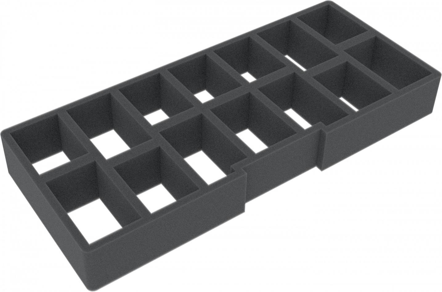 ADBY031 Feldherr Refill foam insert for Chessex Box small - 14 compartments