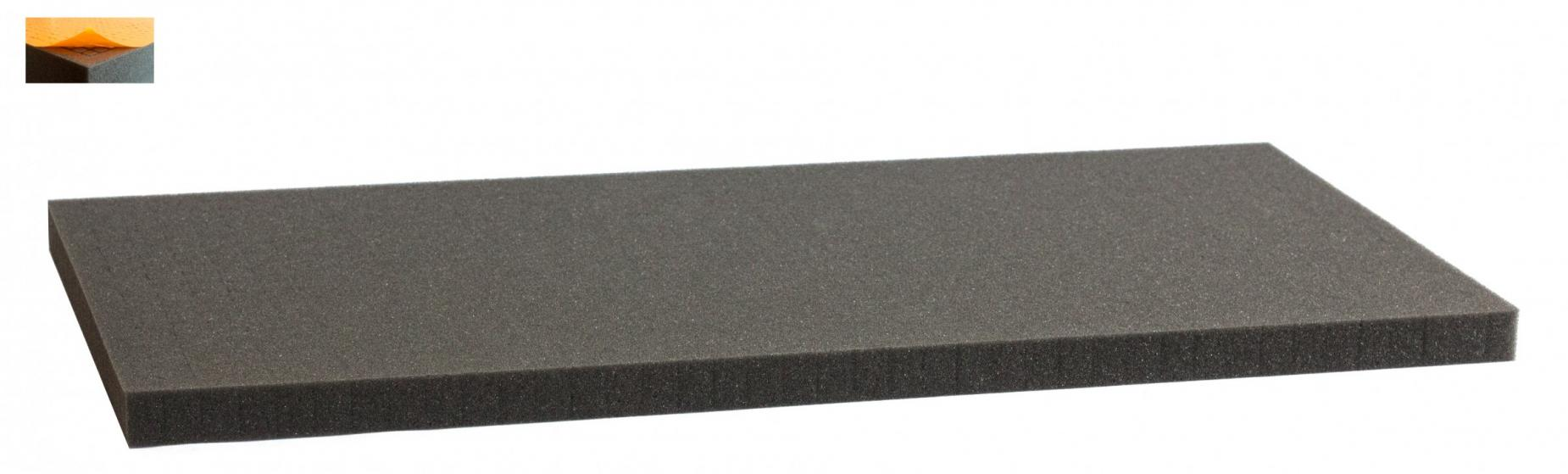 500 mm x 250 mm x 20 mm - Raster 12,5 mm - Pick and Pluck / Pre-Cubed foam tray self-adhesive