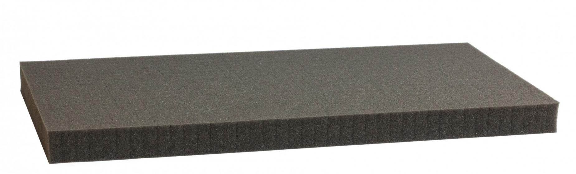 1000 mm x 500 mm x 30 mm - Raster 15 mm - Pick and Pluck / Pre-Cubed foam tray