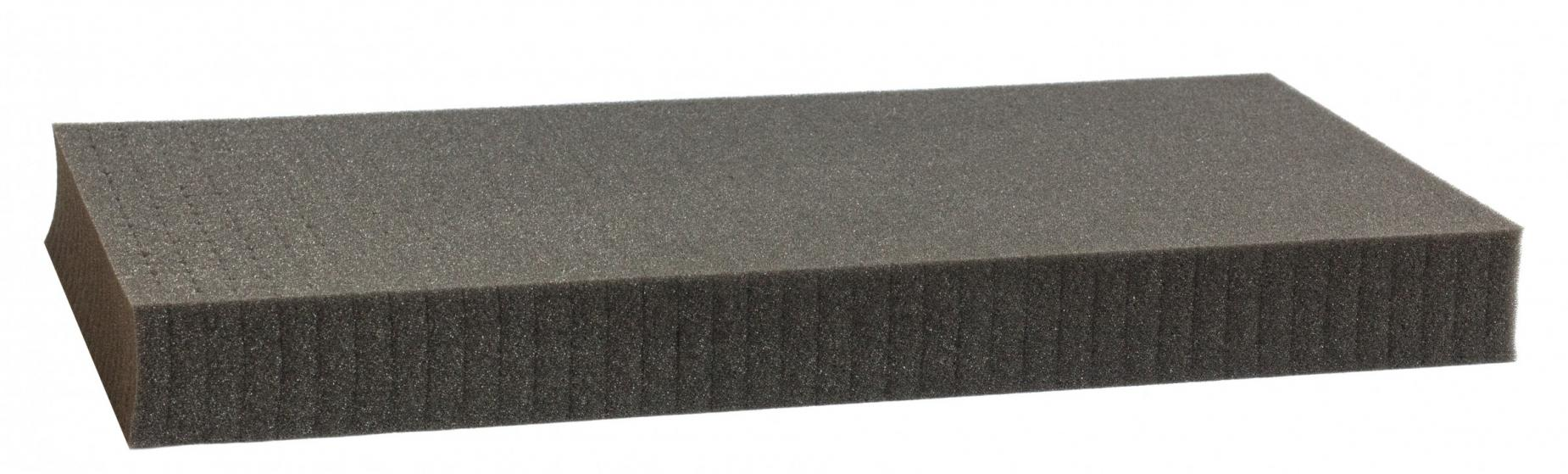 1000 mm x 500 mm x 50 mm - Raster 15 mm - Pick and Pluck / Pre-Cubed foam tray