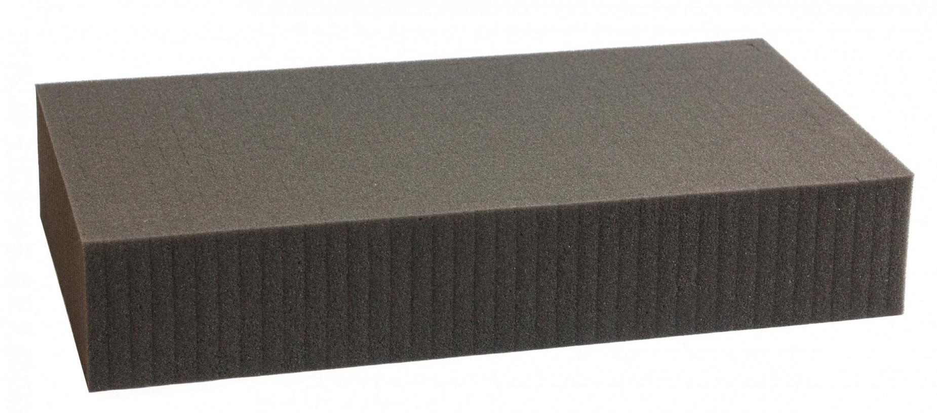 1000 mm x 500 mm x 90 mm - Raster 15 mm - Pick and Pluck / Pre-Cubed foam tray