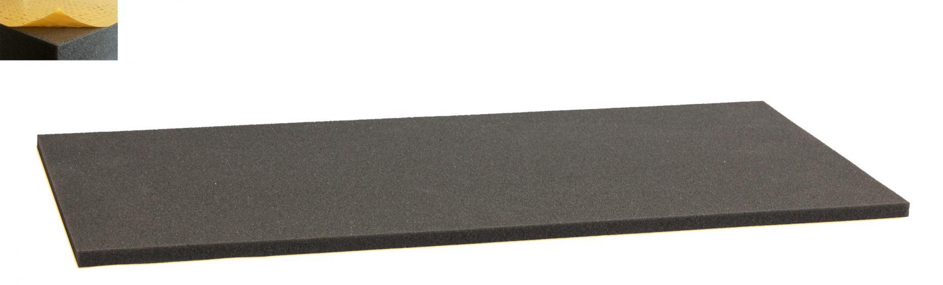 1000 mm x 500 mm x 10 mm foam cutting - self-adhesive