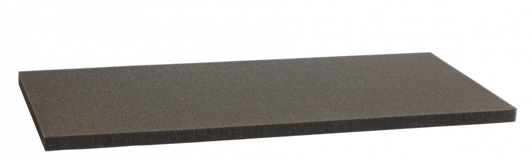 500 mm x 250 mm x 15 mm - Raster 12,5 mm - Pick and Pluck / Pre-Cubed foam tray