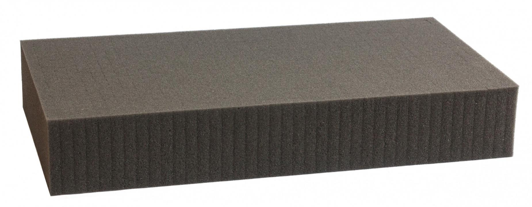 550 mm x 350 mm x 80 mm - Raster 15 mm - Pick and Pluck / Pre-Cubed foam tray